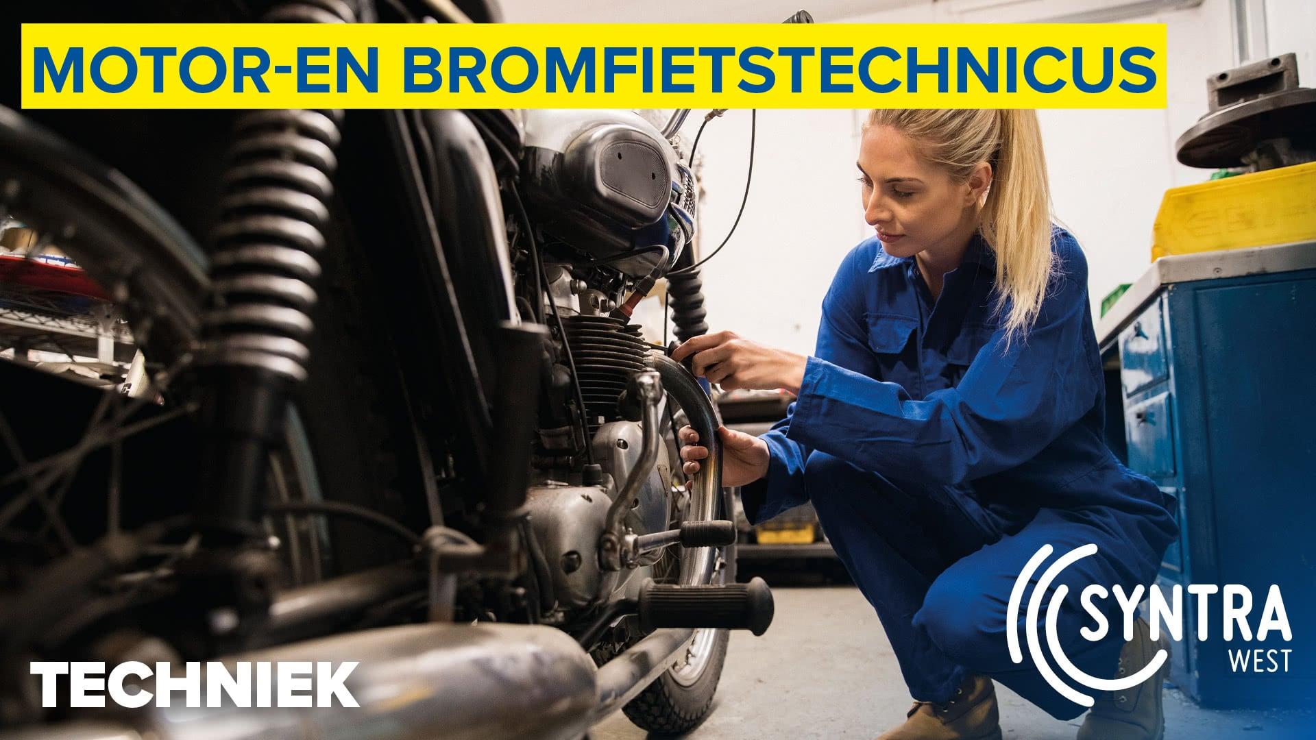 Motor-en bromfietstechnicus