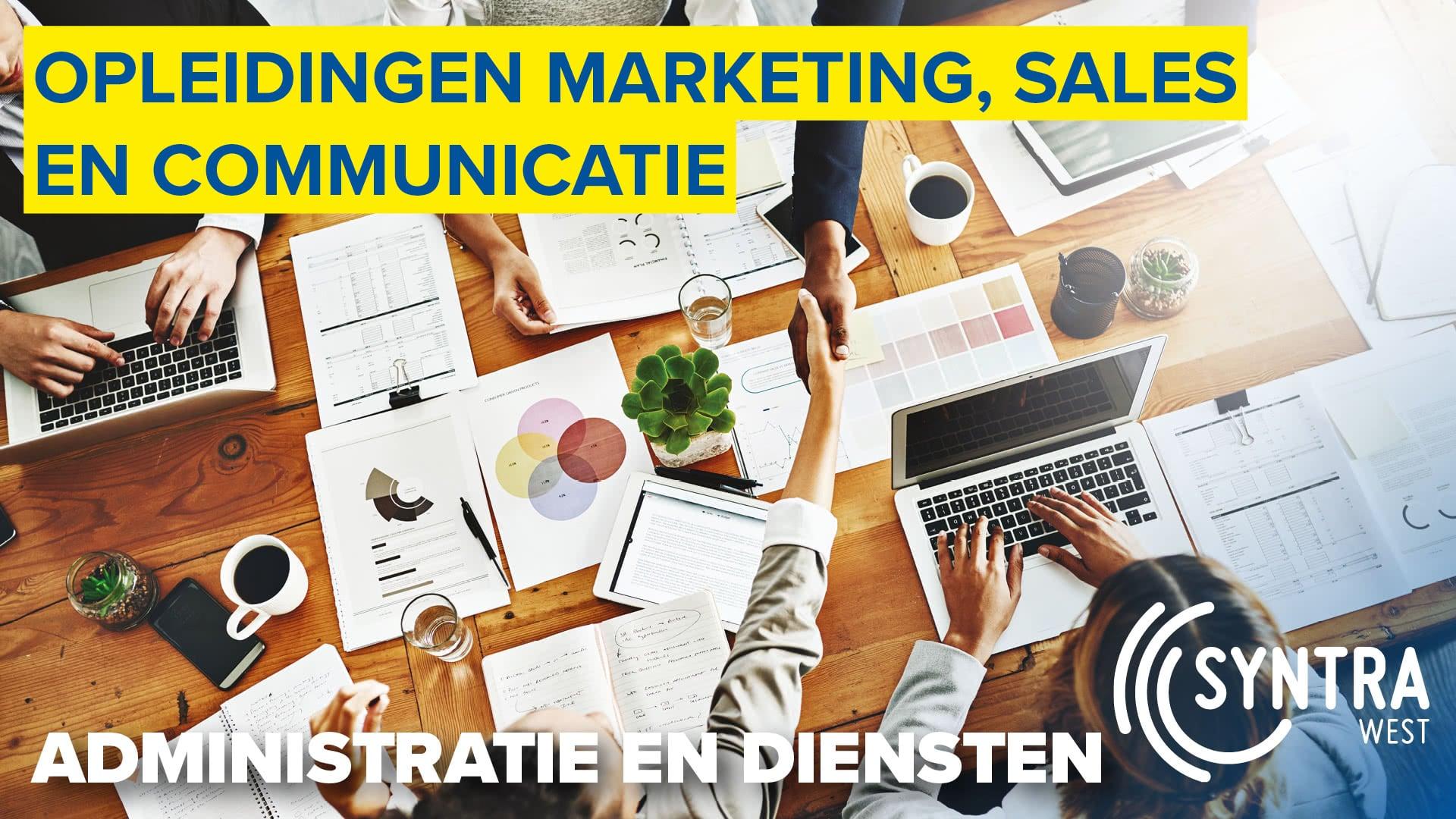 Opleidingen marketing, sales en communicatie
